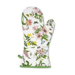 Bavlnená chňapka s motívom kvetín Portmeirion, šírka 19,5 cm