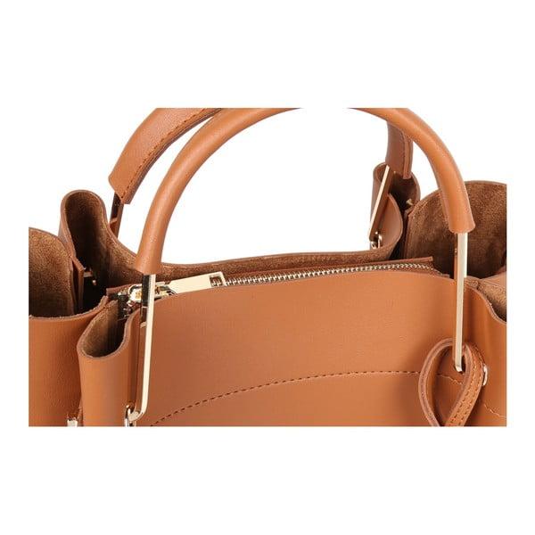 Hnedá kabelka z eko kože Beverly Hills Polo Club Amy