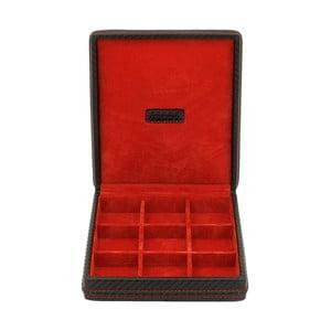Krabička na manžetové gombíky Carbon Black