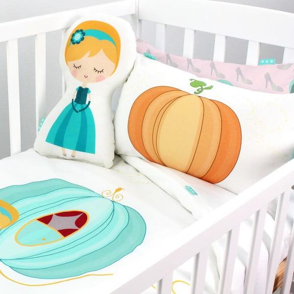 Detské bavlnené obliečky na paplón a vankúš Mr. Fox Pumpkin, 115×145cm