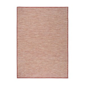Červený koberec Universal Kiara vhodný i do exteriéru, 170 x 120 cm