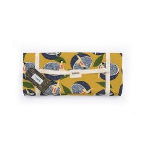 Piknik deka Surdic Manta Picnic Lemmon s motívom citrónov, 170 cm