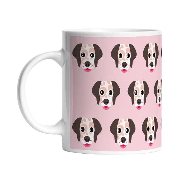 Keramický hrnček I Love Dogs, 330 ml