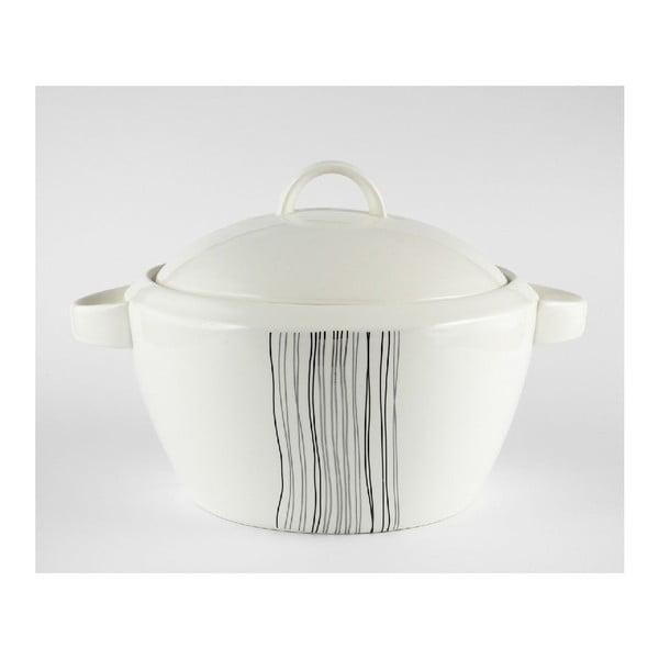 Porcelánová misa na polievku Duo Gift Silver Line