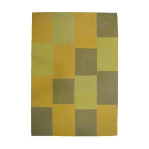 Hořcicove hnedý koberec Kayoom Emotion, 160 x 230 cm