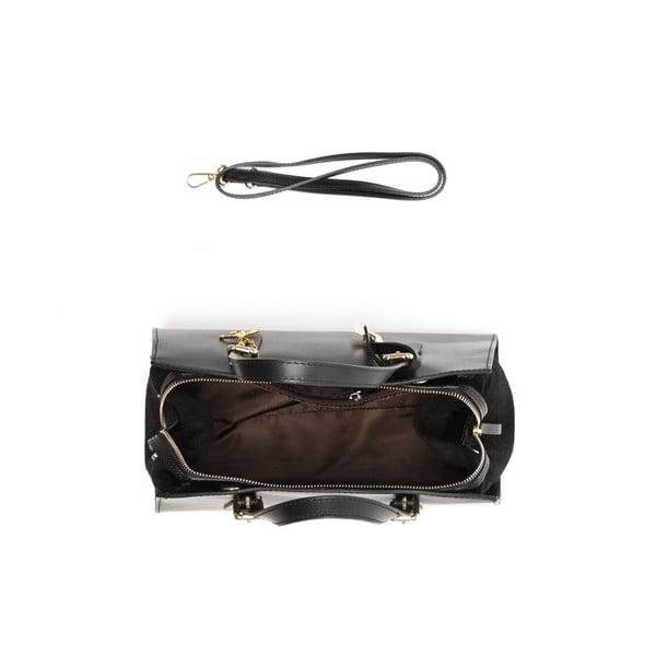 Kožená kabelka Renata Corsi 3003 Nero
