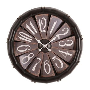 Hodiny Brown Clock, 79 cm