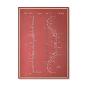 Plagát Bow III, 30x42 cm