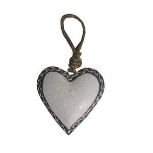 Dekoratívne srdce Light Heart, 7 cm