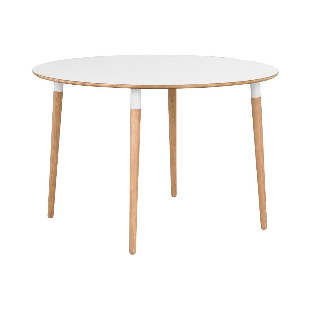 Biely jedálenský stôl Rowico Alborg