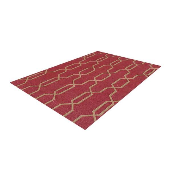 Ručne tkaný koberec Kilim D no.743, 140x200 cm