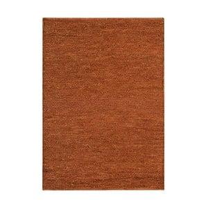 Jutový koberec Soumak Terra, 66x200 cm