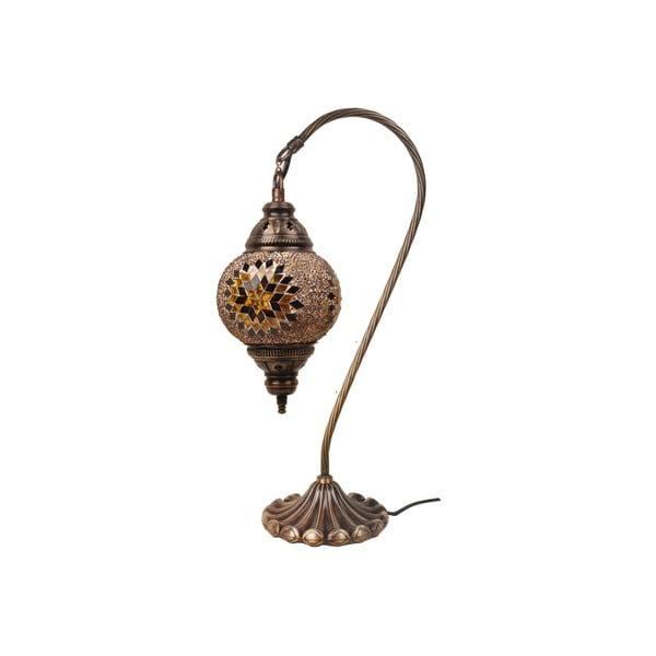 Sklenená lampa Fishing I, 15 cm