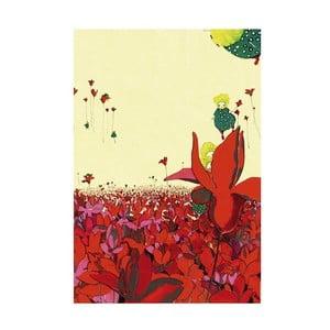 Plagát Mon Petit Art Champs Fleur, 85×58 cm