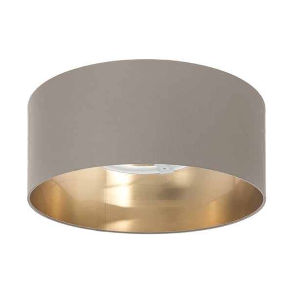 Stropné svietidlo Gold Inside Taupe