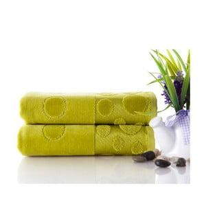 Sada uterákov Tropical Green 50x90 cm