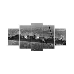 Viacdielny obraz Black&White no. 8, 100x50 cm