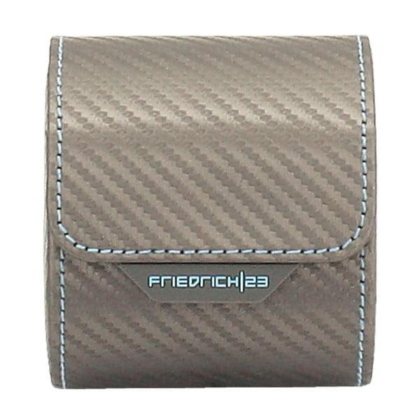 Krabička na hodinky Carbon Rlegant Roll Grey