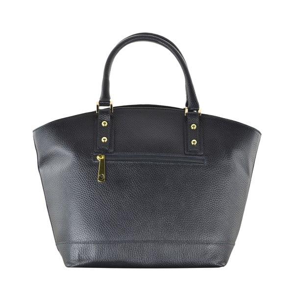 Kožená kabelka Sally, čierna