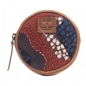 Červená peňaženka na drobné O My Bag Circular