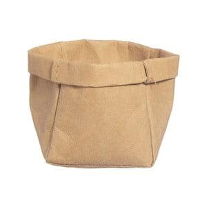 Úložný košík z umývateľného papiera Furniteam Tree, ⌀9 cm