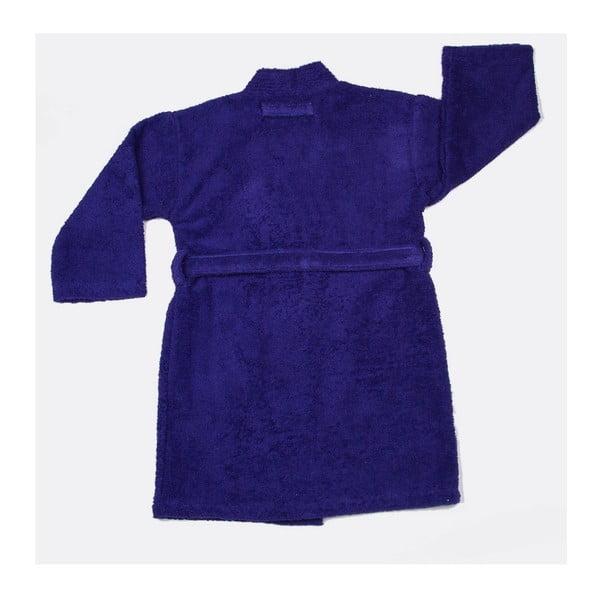 Detský župan US Polo Uspa Violet Blue, vel. 3/4