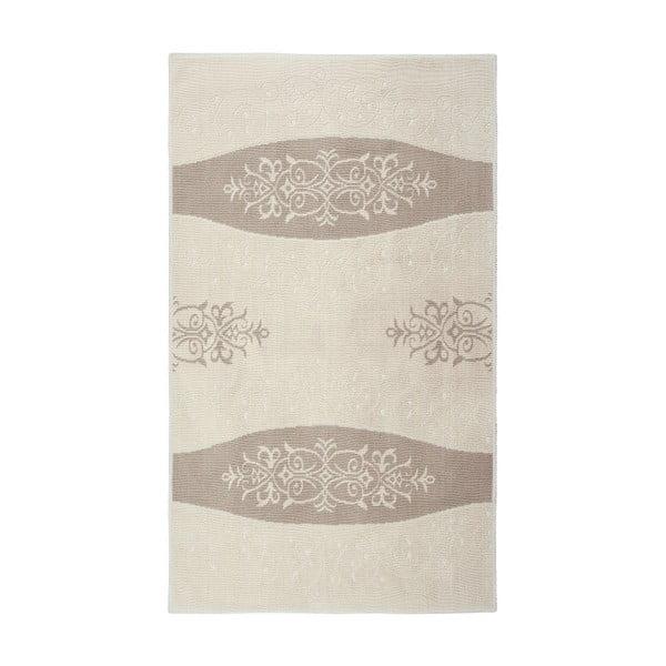 Krémový bavlnený koberec Floorist Decor, 120x180cm