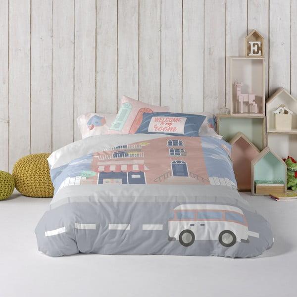 Detské obliečky z čistej bavlny Happynois Neighbor, 140×200 cm