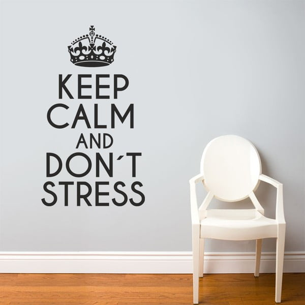 Samolepka na stenu Keep Calm