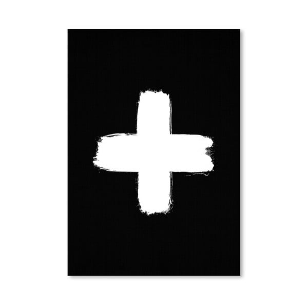 Plagát Cross Black