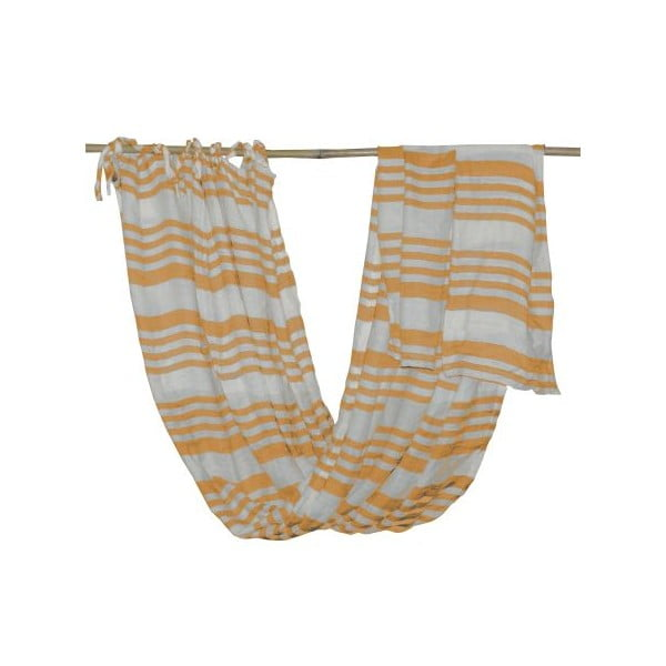 Záclona Curtain Golden Yellow, 130x170 cm