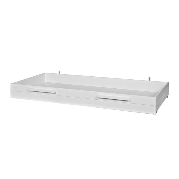 Zásuvka pod posteľ Max, biela