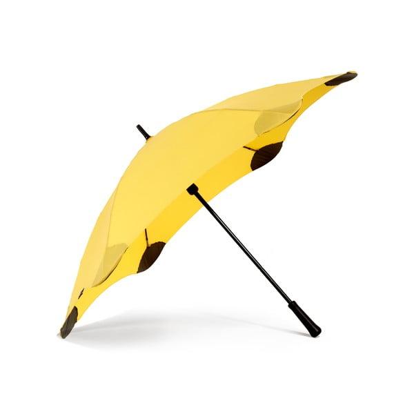 Vysoko odolný dáždnik Blunt Classic 120 cm, žltý