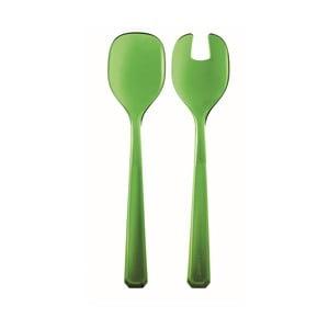 Mechovo zelený šalátový set Fratelli Guzzini Belle Epoque