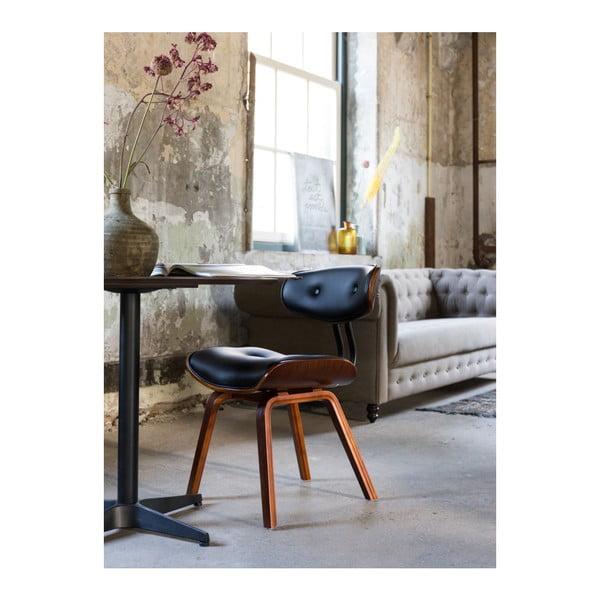 Čierna stolička Dutchbone Blackwood