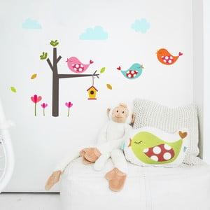 Samolepka na stenu Little Birds