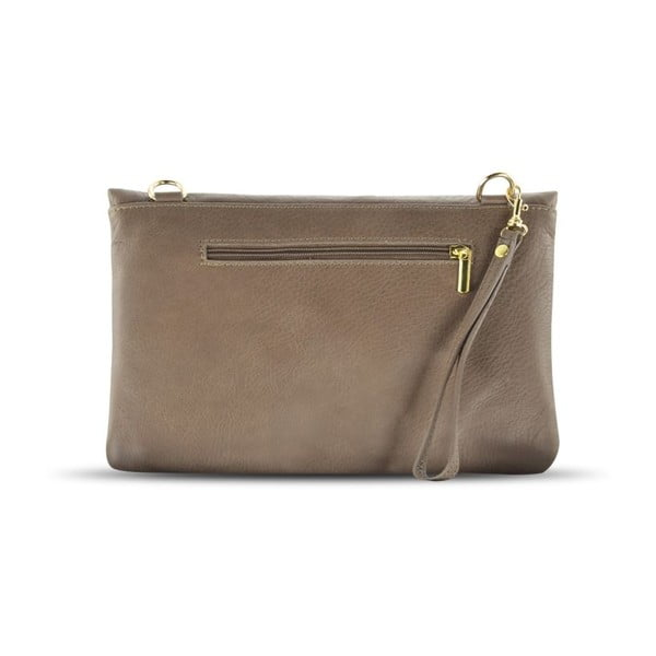 Listová kabelka Mia Taupe