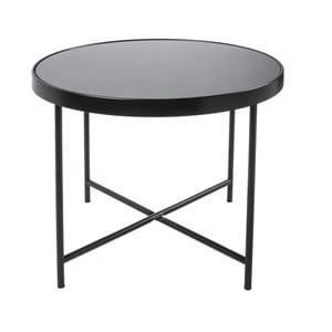 Čierny konferenčný stolík Leitmotiv Smooth XL, 60×46cm