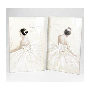 Sada 2 obrazov Dancing Girls, 100x65 cm