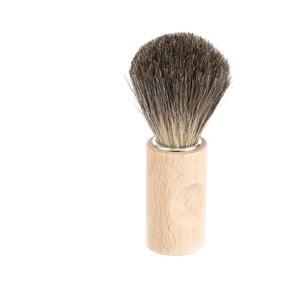 Prírodná štetka na holenie zo štetín jazveca Iris Hantverk