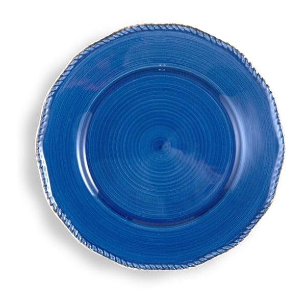 Veľký modrý tanier Brandani
