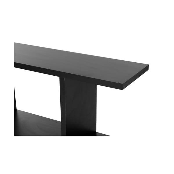 Odkladací stolík Lale Black
