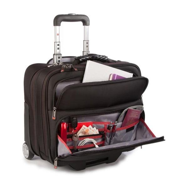 Cestovný kufor i-stay Fortis, čierny