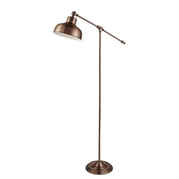 Stojacia lampa Industrial Copper