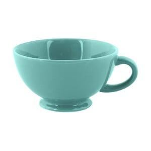 Hrnček Jumbo Cappuccino, tyrkysový
