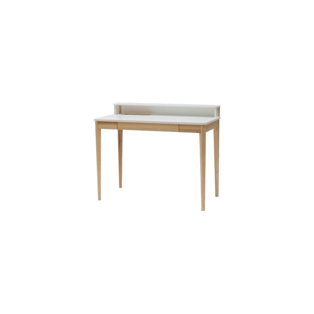 Biely pracovný stôl Ragaba ASHME