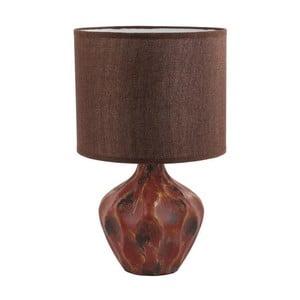 Stolná lampa Dark Red Ceramic