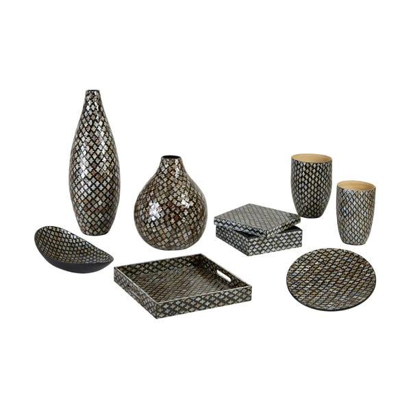 Váza bambusu s mozaikou Complements Oval Vase