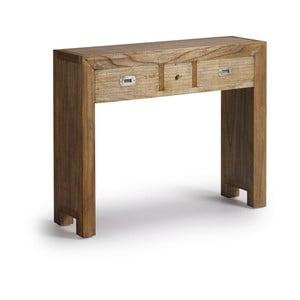 Konzolový stolík z dreva bieleho cédra Moycor Merapi