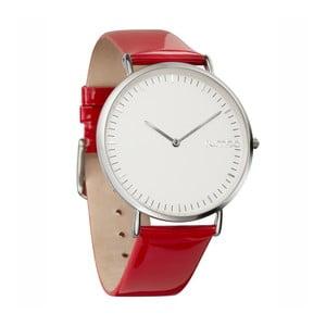 Dámske hodinky SoHo Patent Leather Silver Cherry